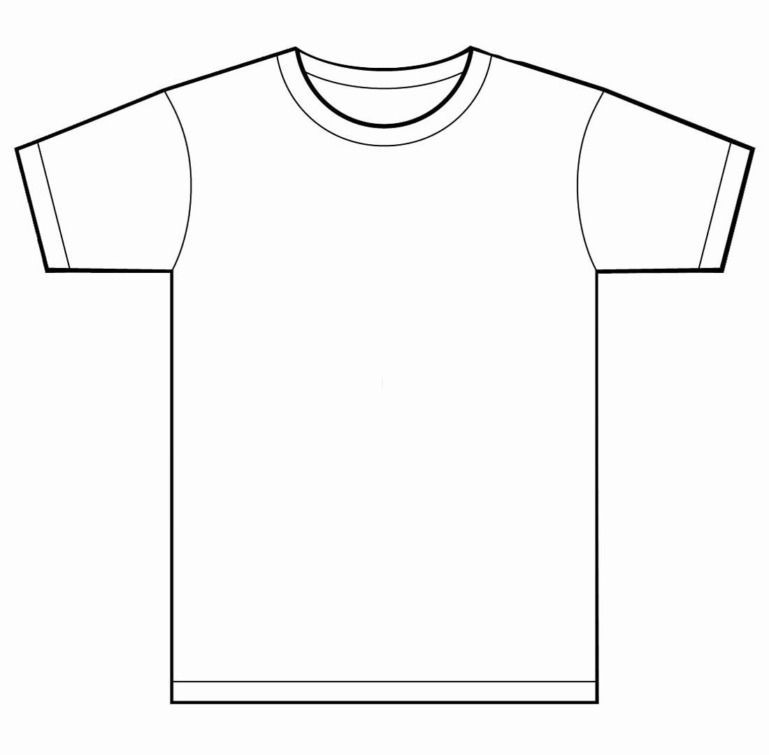 T Shirt Template Illustrator Best Of T Shirt Template for Kids Clipart Best