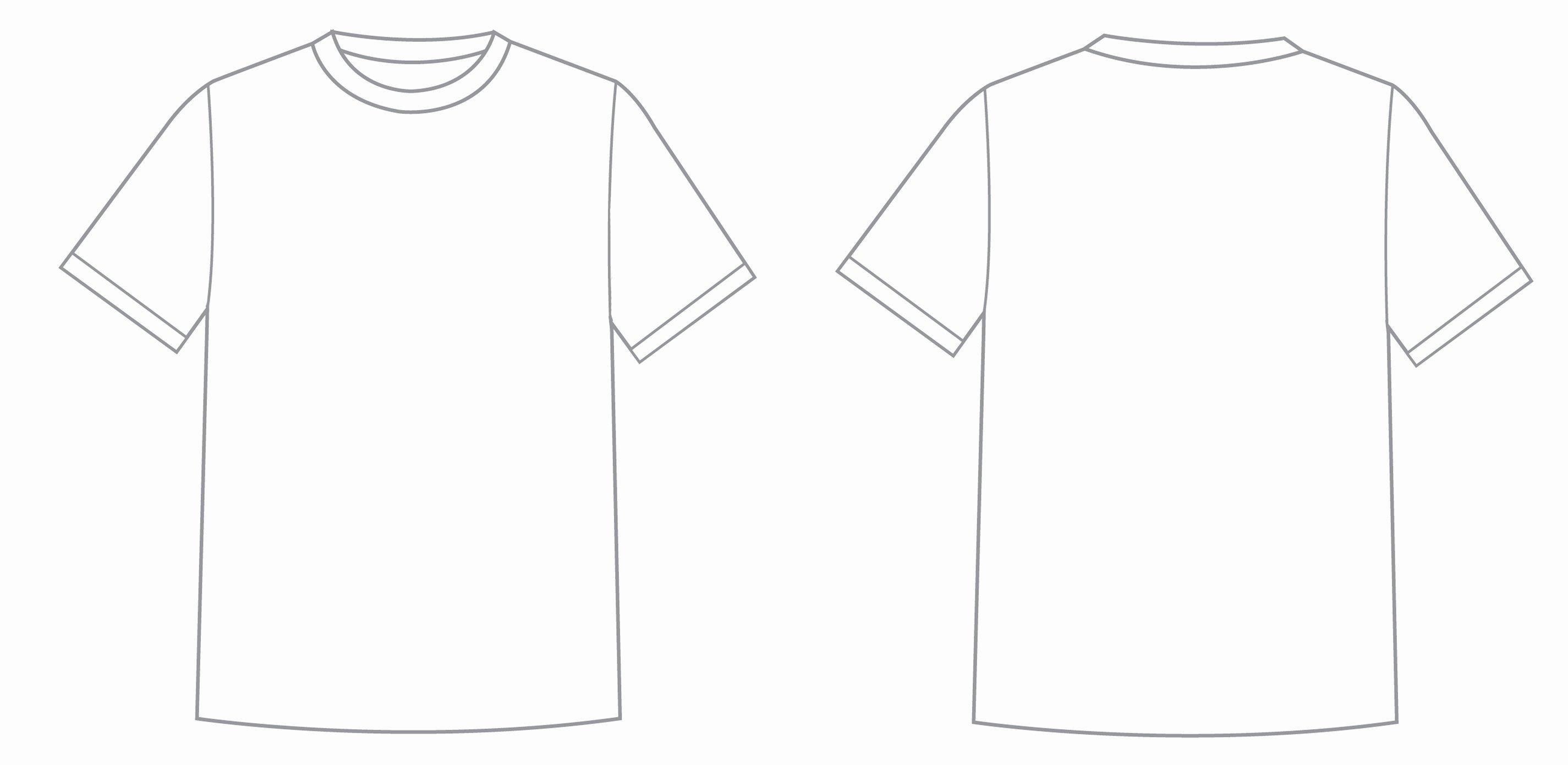 T Shirt Template Illustrator Elegant T Shirt Template Illustrator