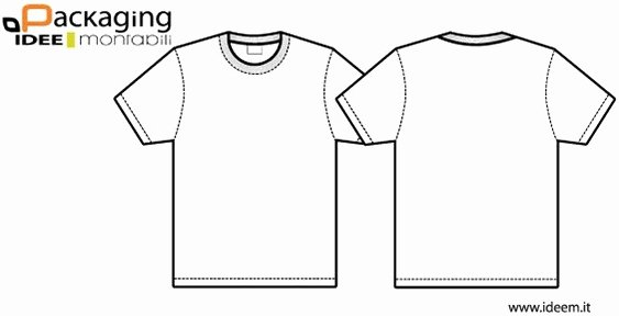 T Shirt Template Illustrator Elegant T Shirt Template Vector Free Vector In Encapsulated
