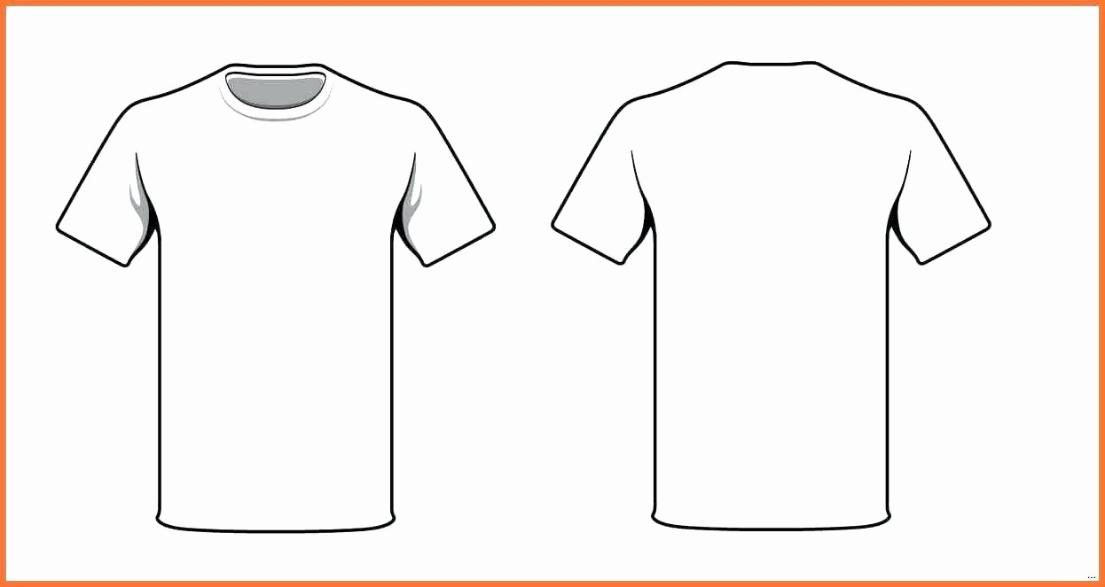 T Shirt Template Illustrator Luxury T Shirt Template Ilrator Our T Shirt