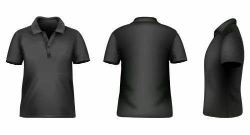 T Shirt Template Photoshop Awesome Blank Tshirt Template for Shop In Black