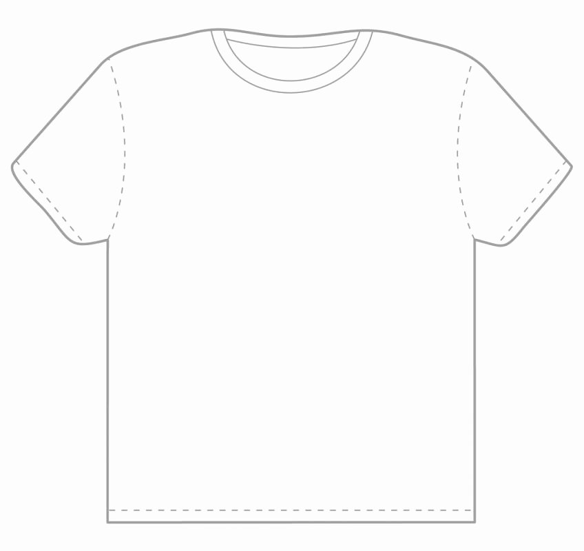 T Shirt Template Photoshop Unique T Shirt Template Shop
