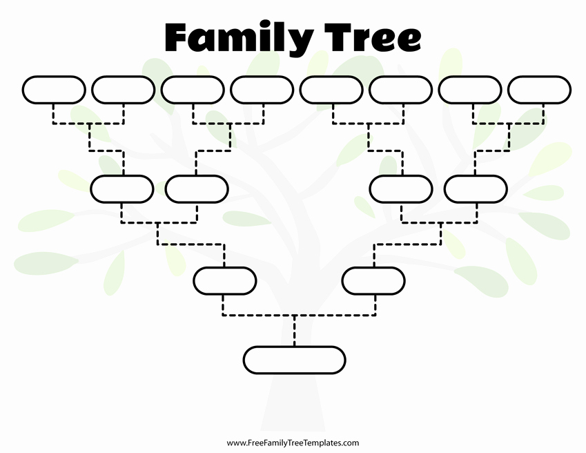 Template for Family Tree Awesome Free Family Tree Templates for A Projects