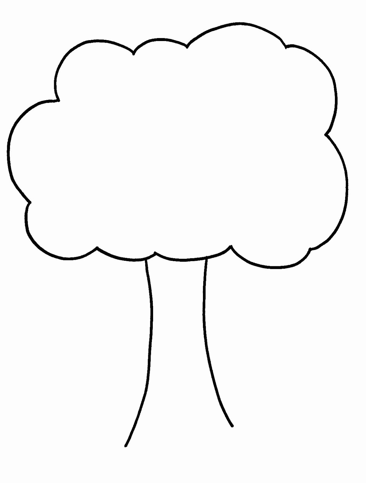 Template for Family Tree Lovely Bare Tree Template Cliparts