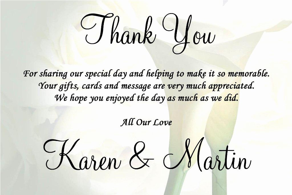 Thank You Card for Money Luxury Wedding Thank You Quotes Quotesgram
