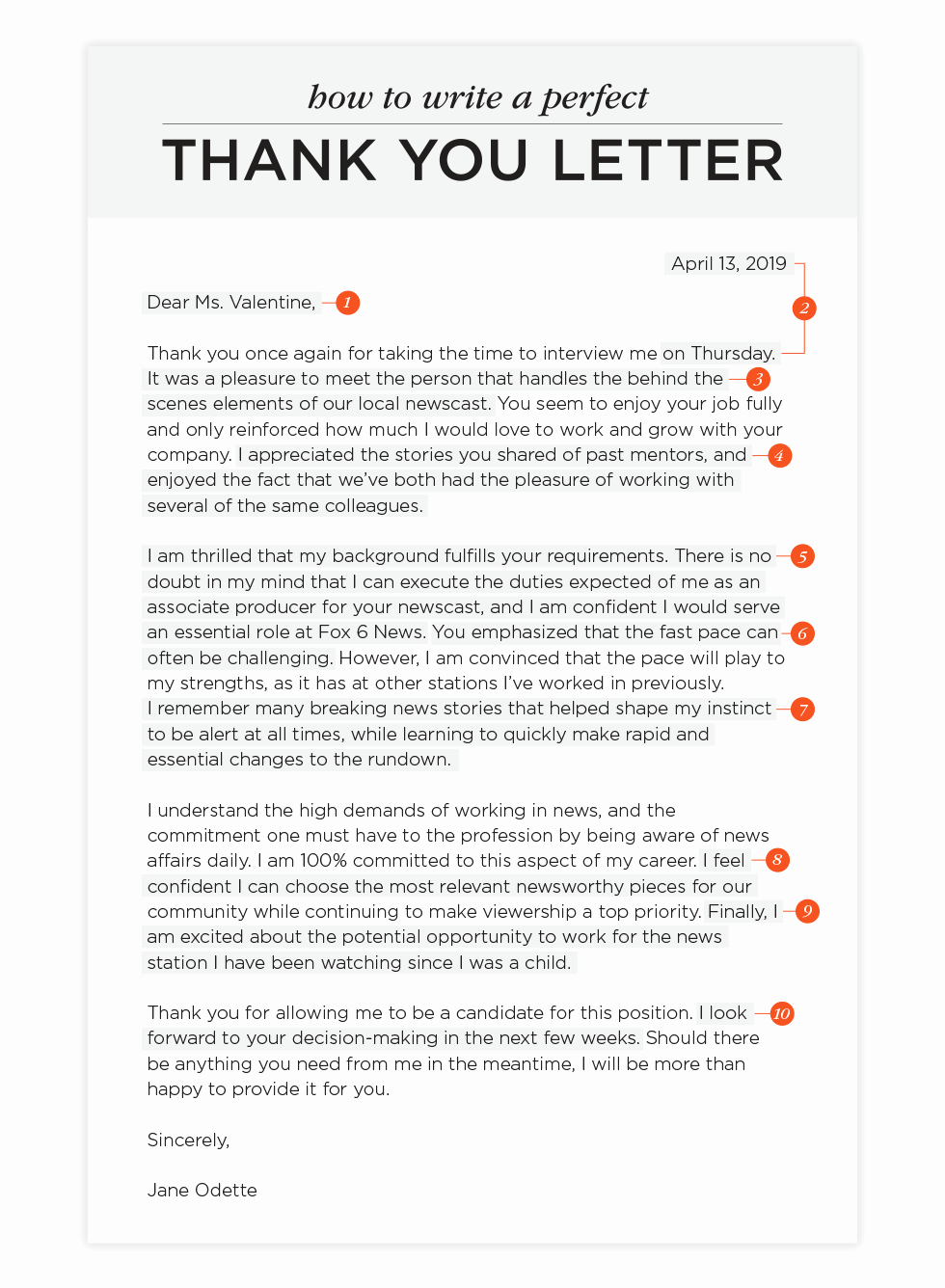 Thank You Note Sample Beautiful How to Write A Thank You Letter and Templates