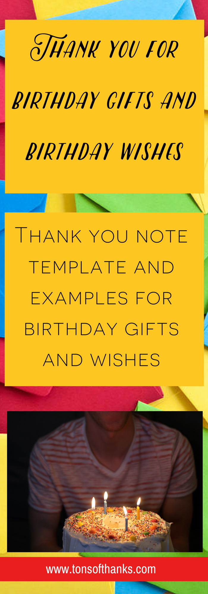 Thank You Note Sample New Thank You for the Birthday Wishes Thank You Note Examples