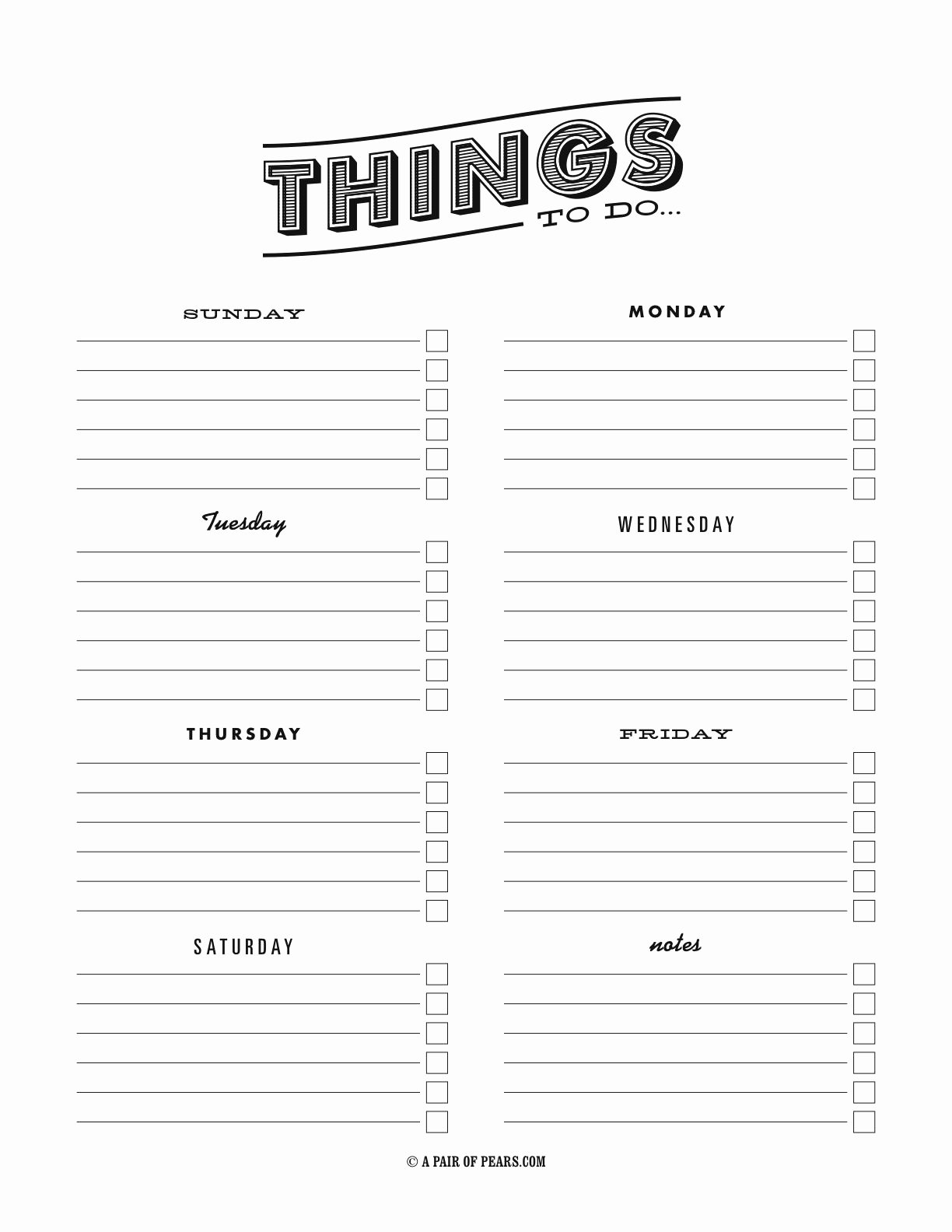 Things to Do List Template Fresh Things to Do Template Pdf Fancy to Do List
