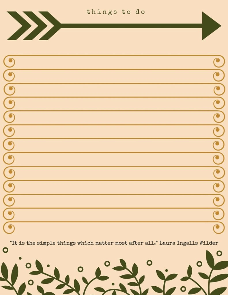 Things to Do List Template Inspirational 40 Printable to Do List Templates