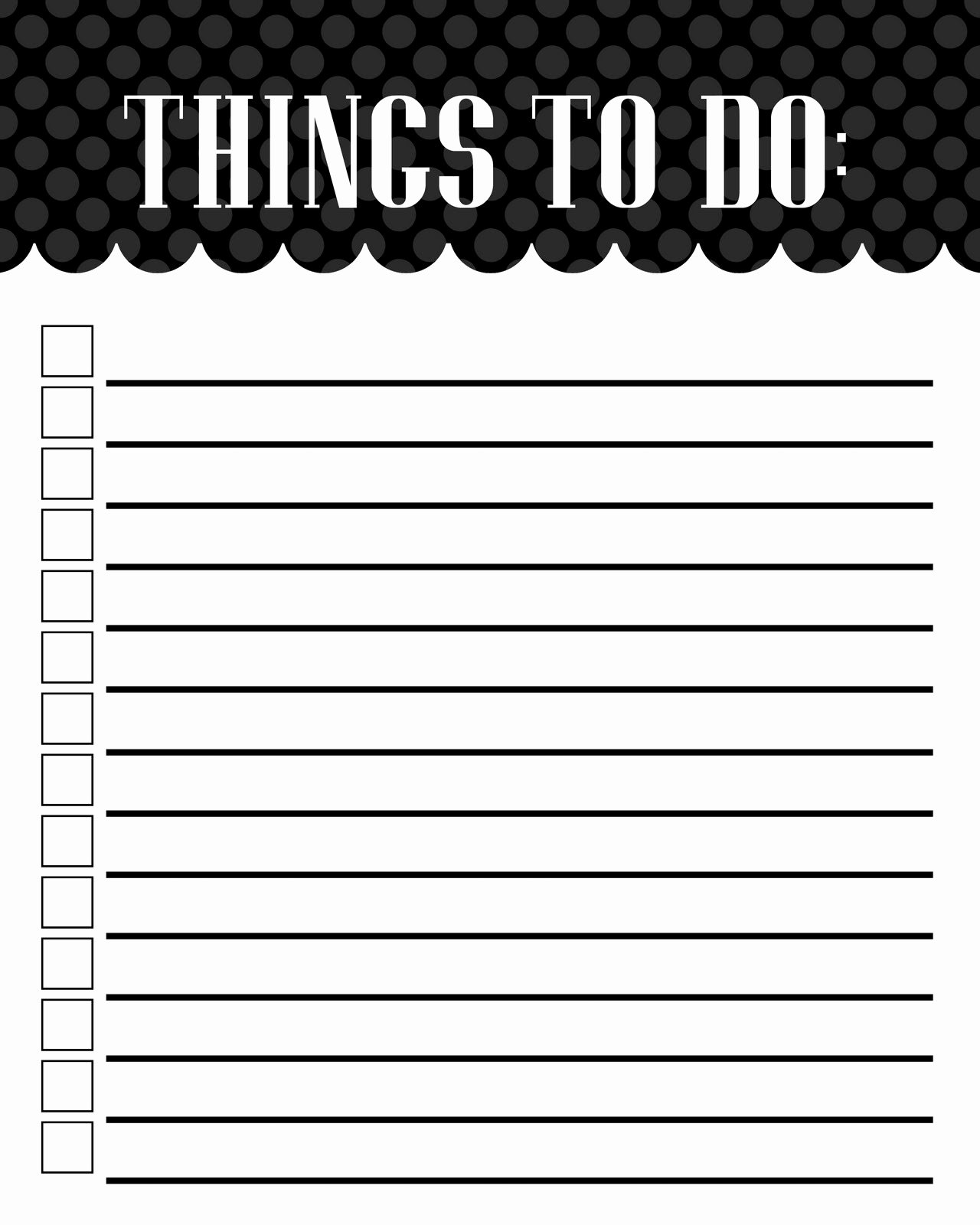 Things to Do List Template Lovely Mckell S Closet to Do List