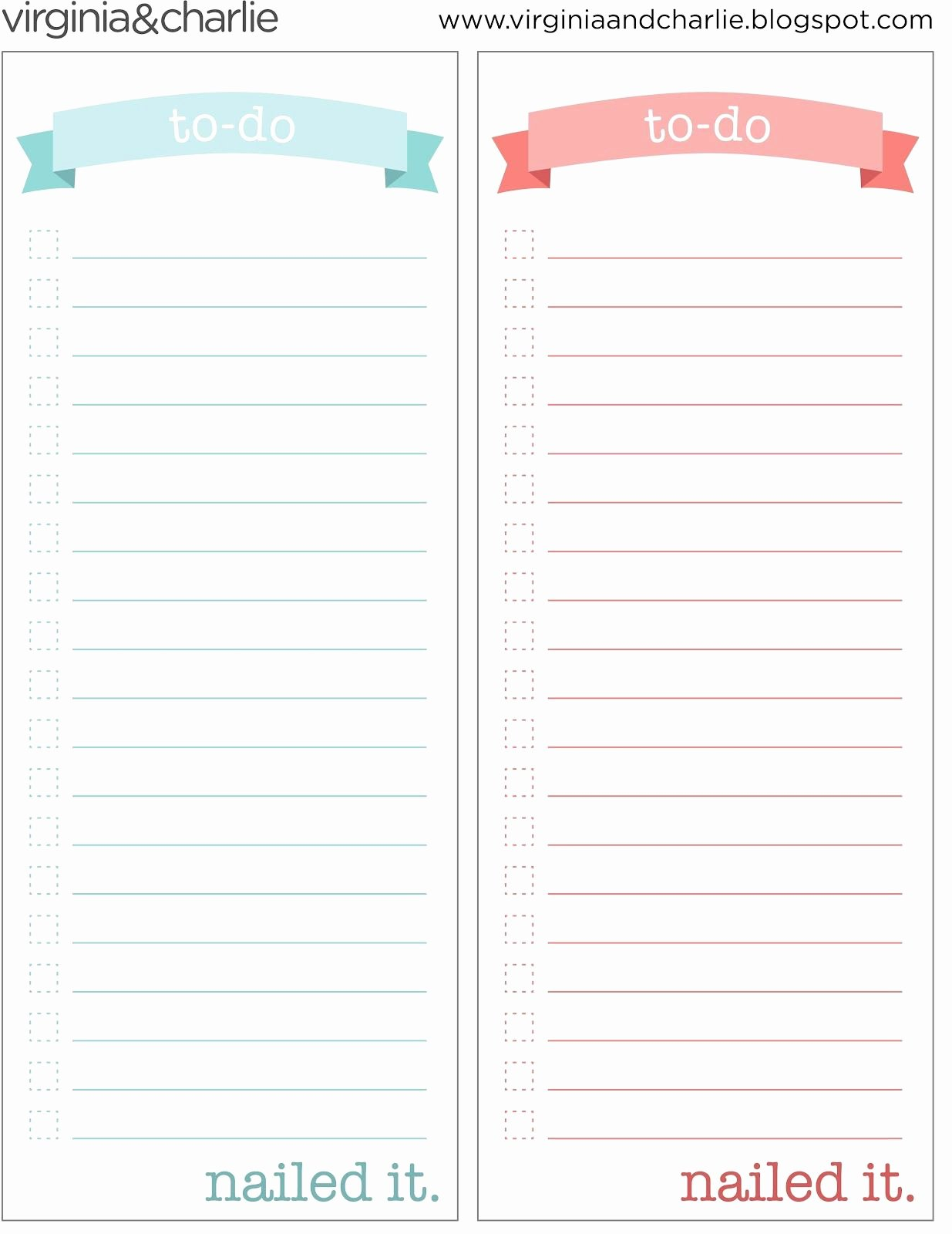Things to Do List Template New Things to Do Template Pdf