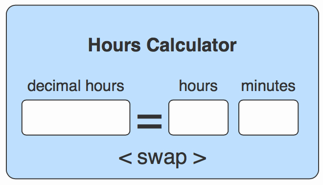 Time Clock Conversion Chart Fresh How to Convert Decimal Hours to Hours and Minutes