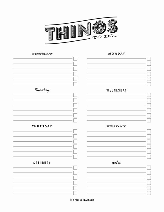 To Do List Pdf Fresh Things to Do Template Pdf Fancy to Do List
