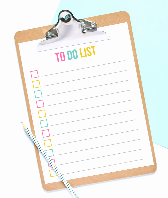 To Do List Pdf Lovely Free Printable to Do List Cupcake Edition Design Eat