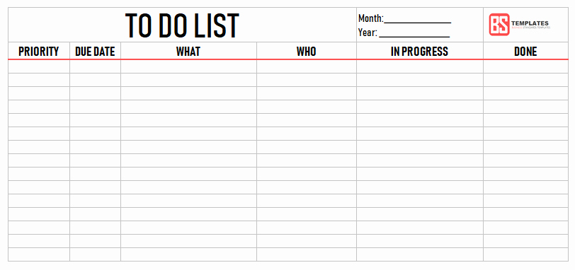 To Do List Pdf Lovely Printable to Do List Template – Excel Sample Example Pdf