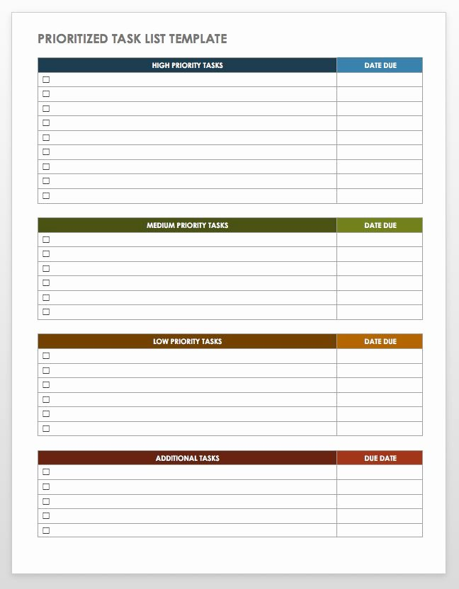 To Do List Template Word Fresh 28 Free Time Management Worksheets