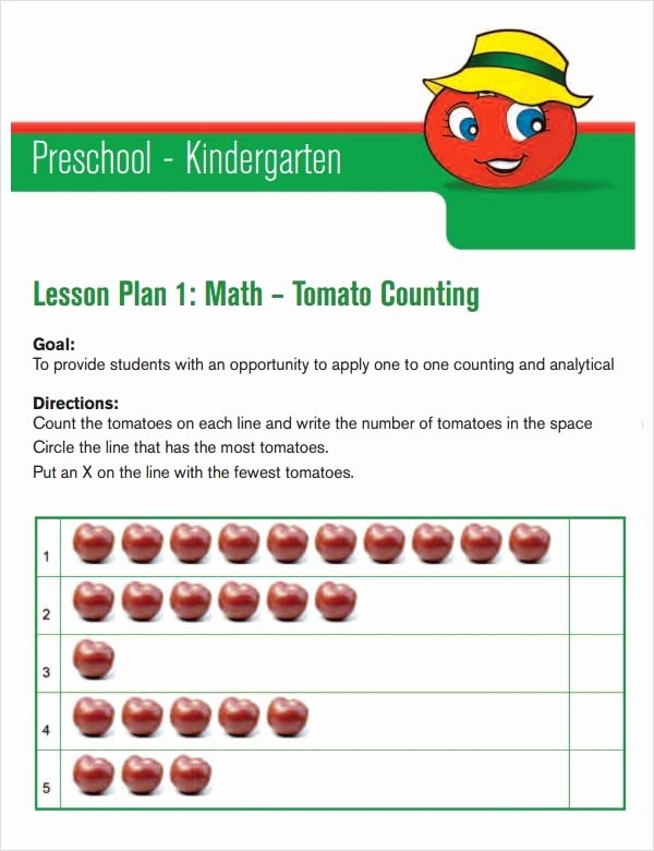 Toddler Lesson Plan Ideas Best Of Free 10 Sample Preschool Lesson Plan Templates In Google