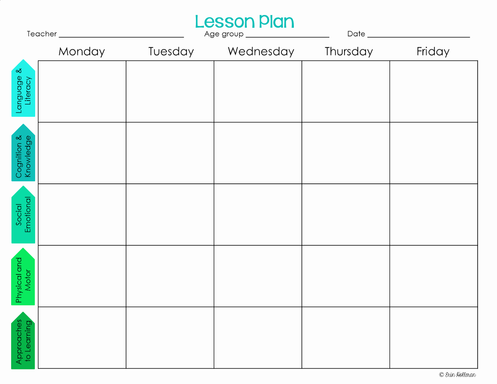 Toddler Lesson Plan Template Awesome Preschool Ponderings Make Your Lesson Plans Work for You