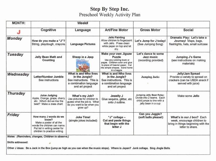 Toddler Lesson Plan Template Elegant Emergent Curriculum Preschool Lesson Plan Template
