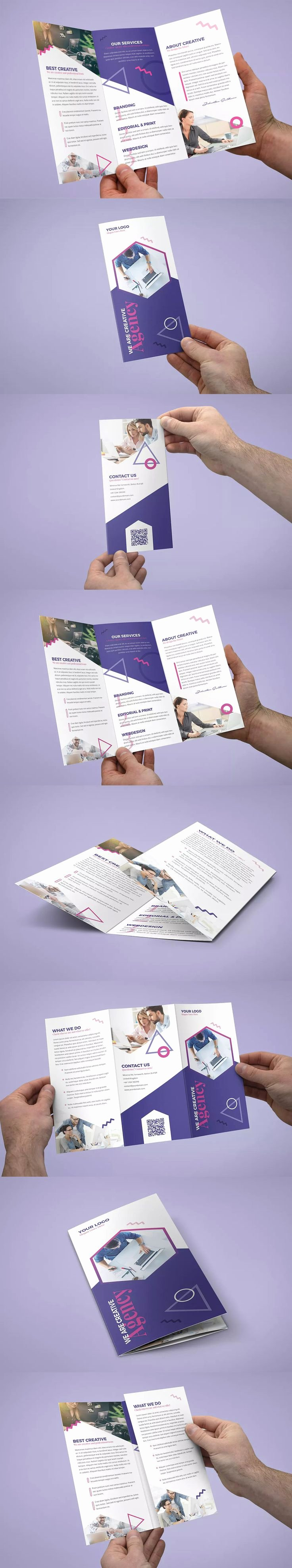Tri Fold Brochure Size Awesome Best 25 Tri Fold Brochure Design Ideas On Pinterest