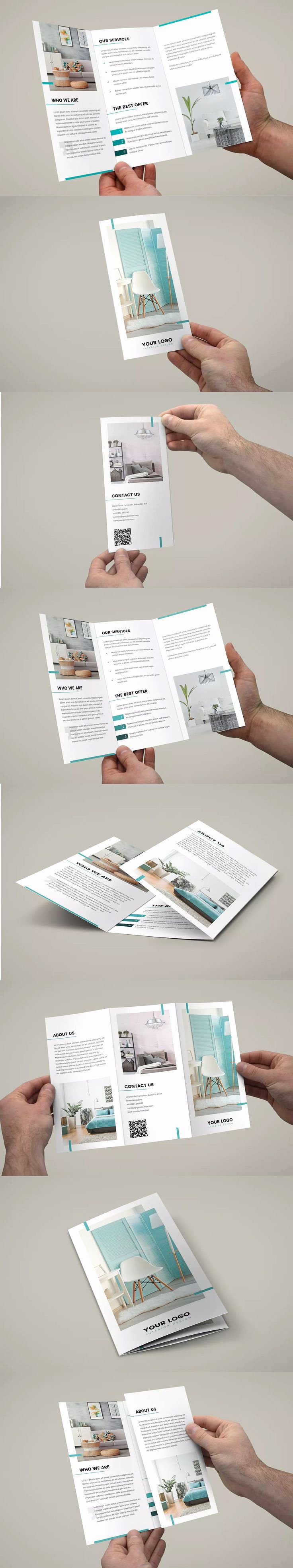 Tri Fold Brochure Size Elegant 25 Best Tri Fold Brochure Ideas On Pinterest