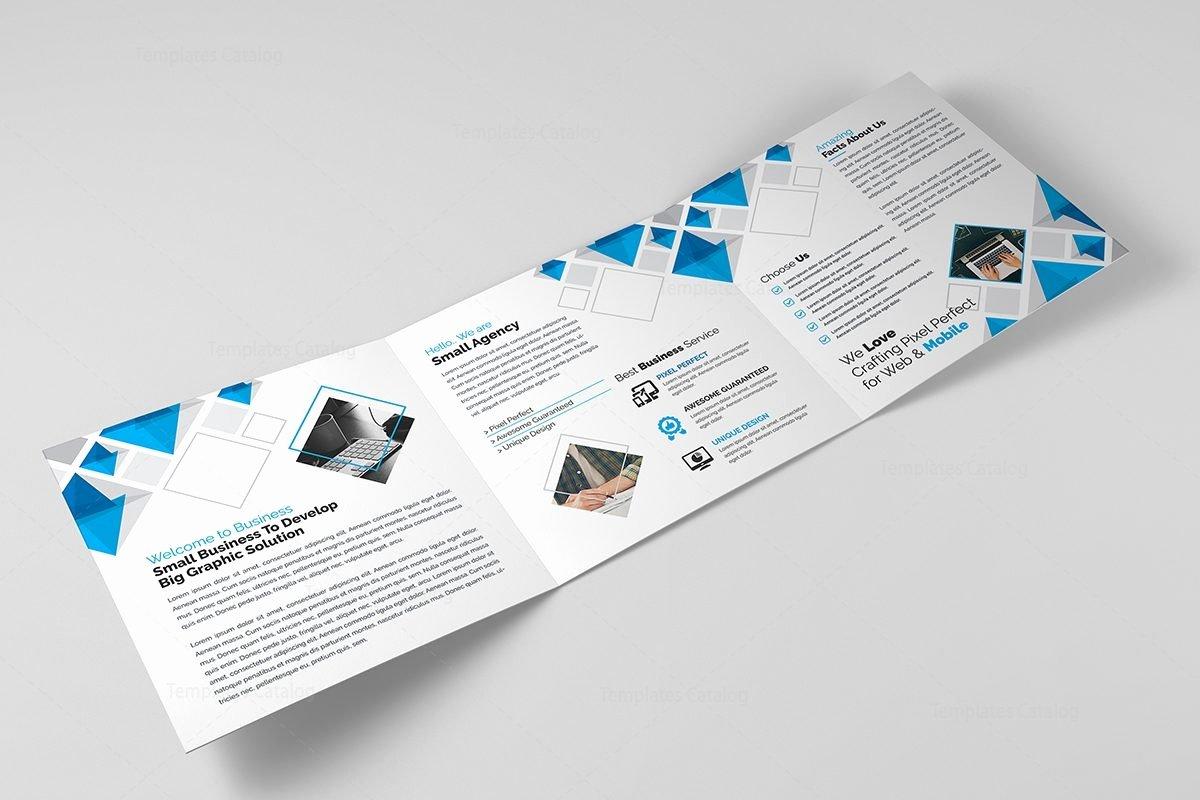 Tri Fold Brochure Size Elegant Eclipse Modern Tri Fold Brochure Template