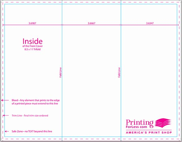 Tri Fold Brochure Size Lovely 17 Awsome Brochure Sizes and Psd Design Examples