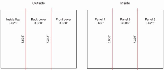 Tri Fold Brochure Size New What are the Dimensions Of A Tri Fold Brochure