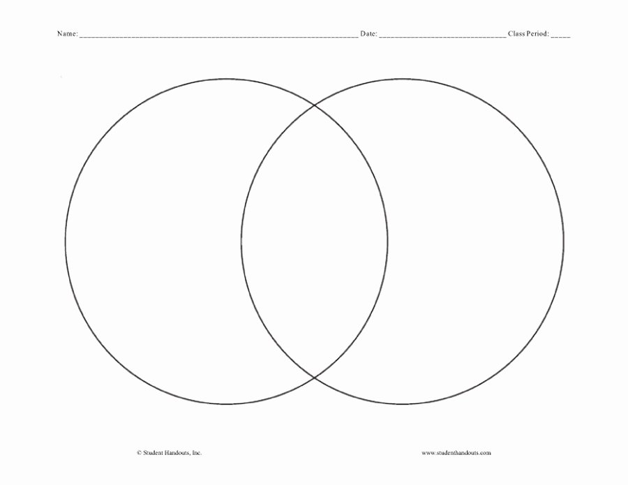 Venn Diagram Template Word Best Of 40 Free Venn Diagram Templates Word Pdf Template Lab