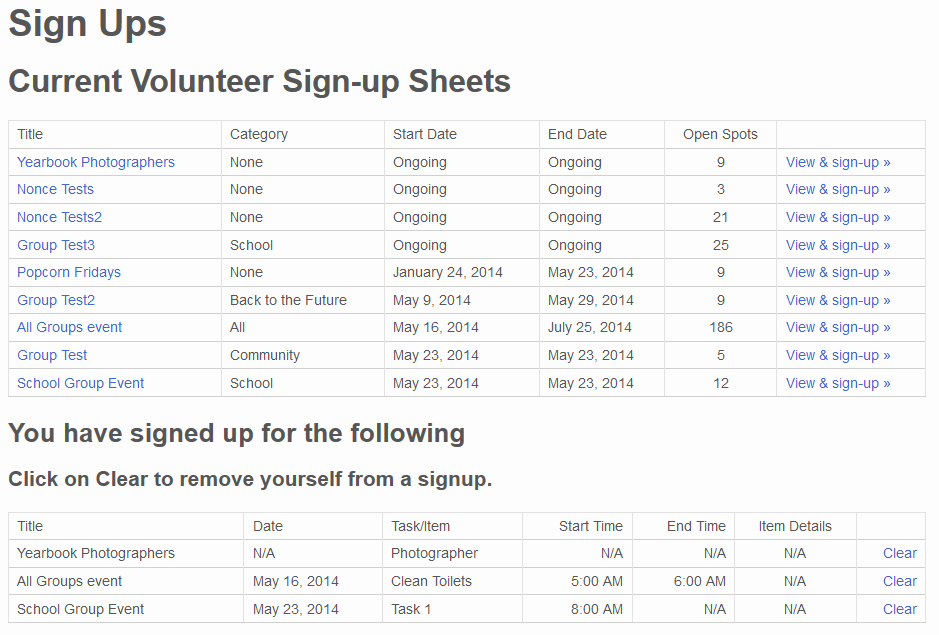 Volunteer Sign Up Sheet Awesome Pta Volunteer Sign Up Sheet Groups – Stephen Sherrard Plugins