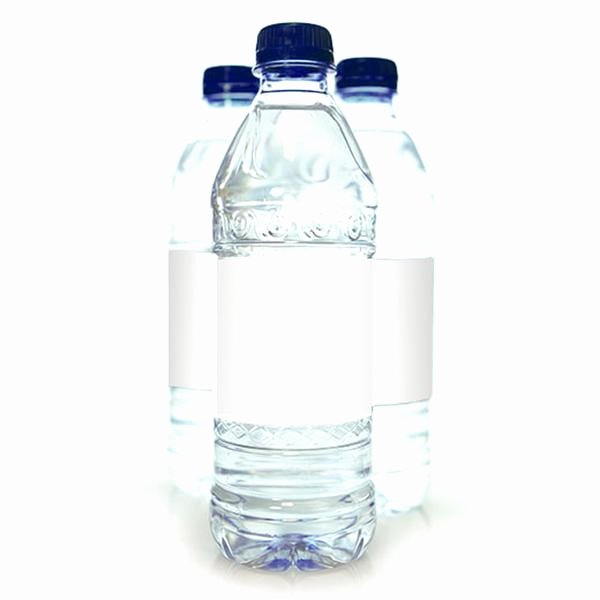 Water Bottle Labels Template New 25 Water Bottle Labels 7 X 2 In Clear Gloss – Dashleigh