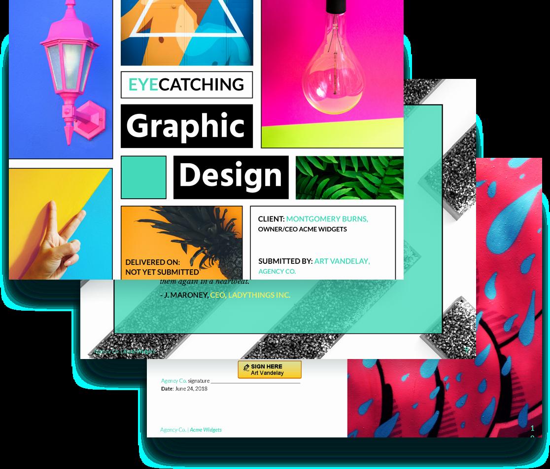 Web Design Proposal Template Beautiful Graphic Design Proposal Template