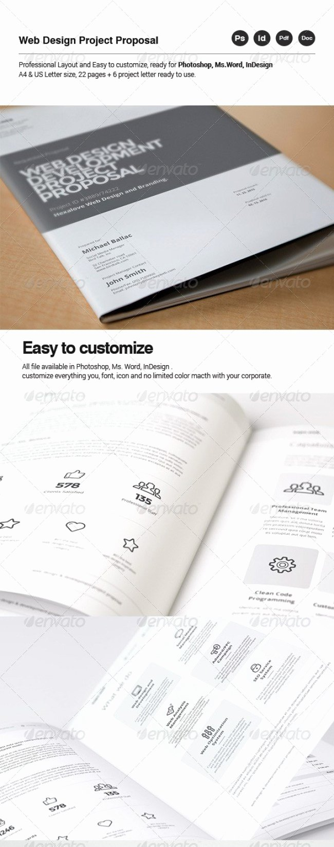 Web Design Proposal Template Inspirational 48 Best Business Proposal Templates In Indesign Psd & Ms