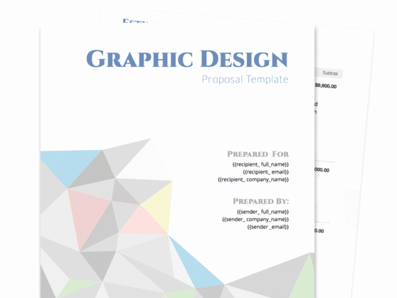 Web Design Proposal Template Lovely Graphic Design Proposal Template