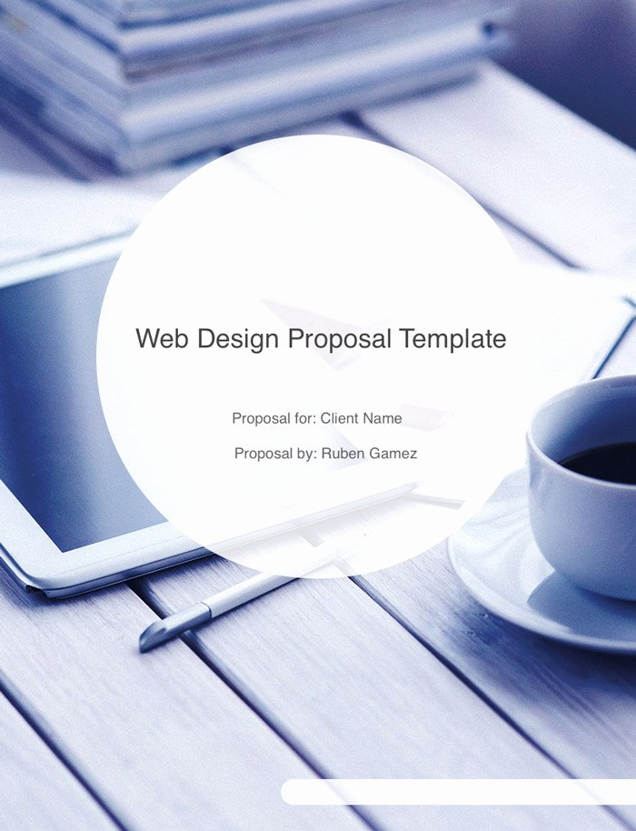 Web Design Proposal Template New Ultimate Web Design Proposal Template Free Download