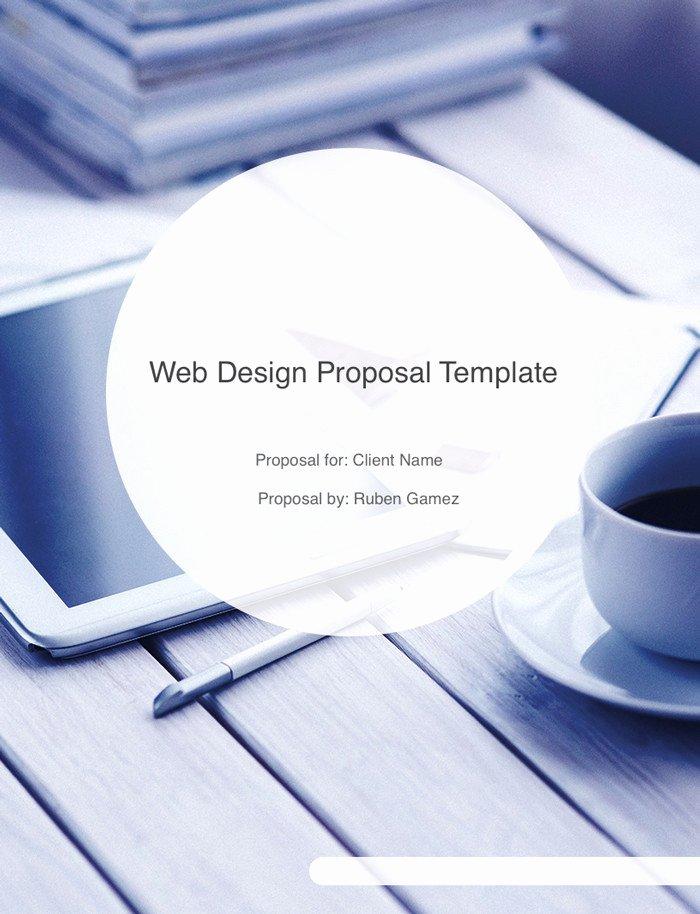 Web Design Proposal Template New Ultimate Web Design Proposal Template Free Download