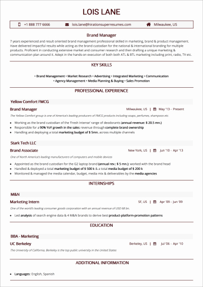 Web Developer Resume Template Beautiful How to Craft the Perfect Web Developer Ré­su­mé — Smashing