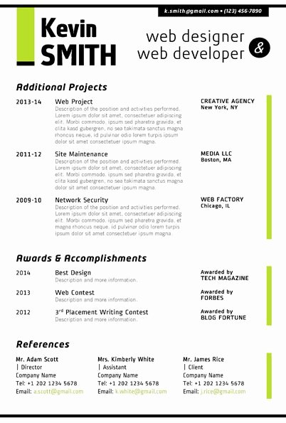 Web Developer Resume Template Inspirational Image Result for Jr Web Developer Resume