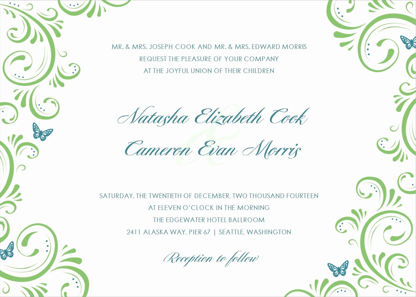 Wedding Invitation Templates Free Beautiful Applying the Wedding Planning Templates
