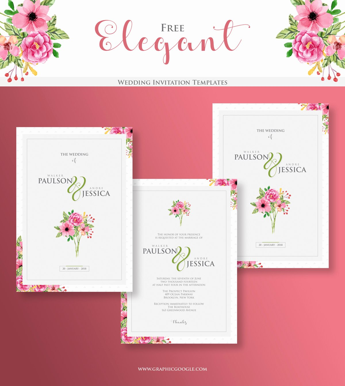 Wedding Invitation Templates Free Elegant Free Elegant Wedding Invitation Templatesgraphic Google