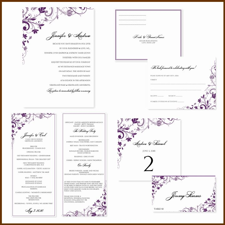 Wedding Invitation Templates Free Fresh Free Wedding Invitation Templates