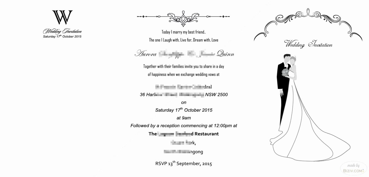 Wedding Invitation Templates Free Luxury Free Printable Blank Wedding Invitation Templates