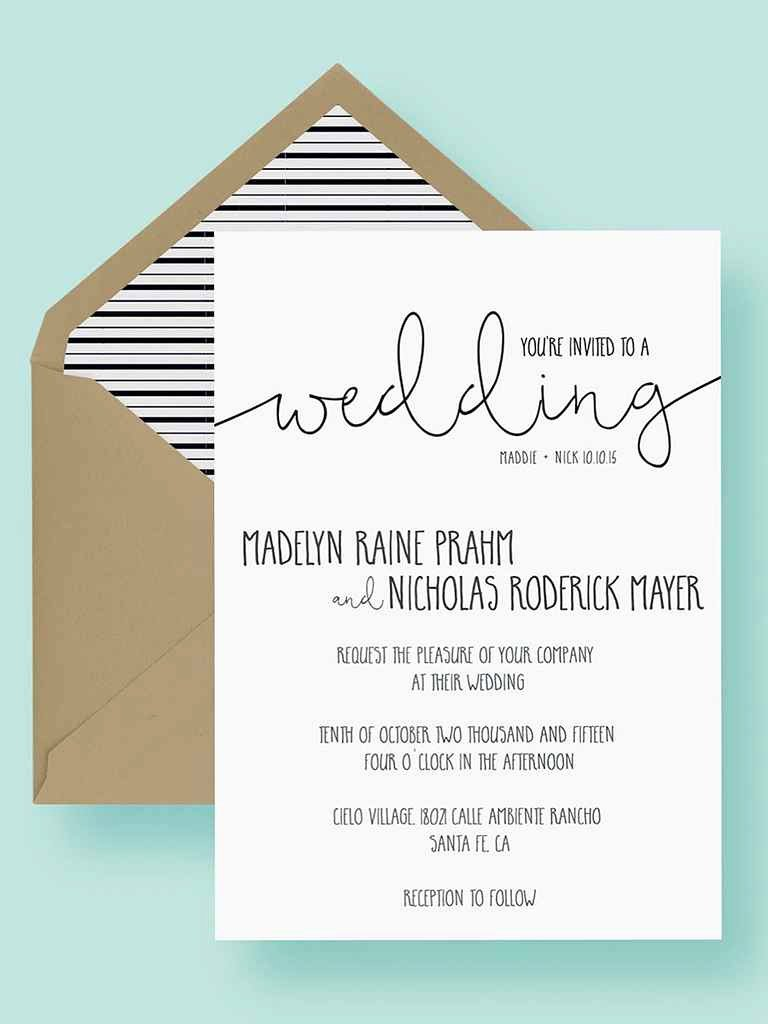 Wedding Invitation Templates Free Unique 16 Printable Wedding Invitation Templates You Can Diy