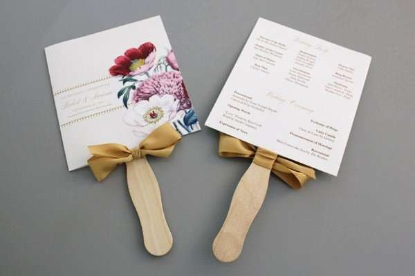 Wedding Program Fans Template Fresh A Round Up Of Free Wedding Fan Programs B Lovely events
