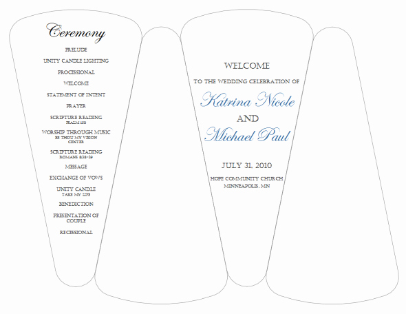 Wedding Program Fans Template Lovely Dyi Template for Program Fans Free Template