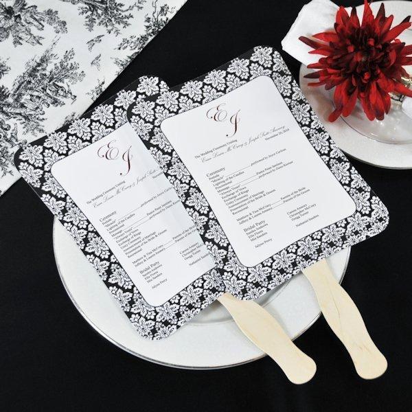Wedding Program Fans Template New Diy Wedding Program Fans Kit with Design Template