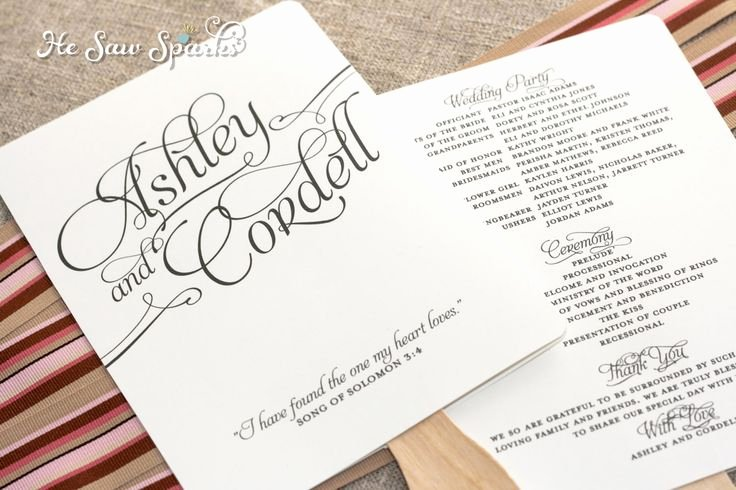 Wedding Program Fans Template New Matching Paddle Fan Program Diy Printable