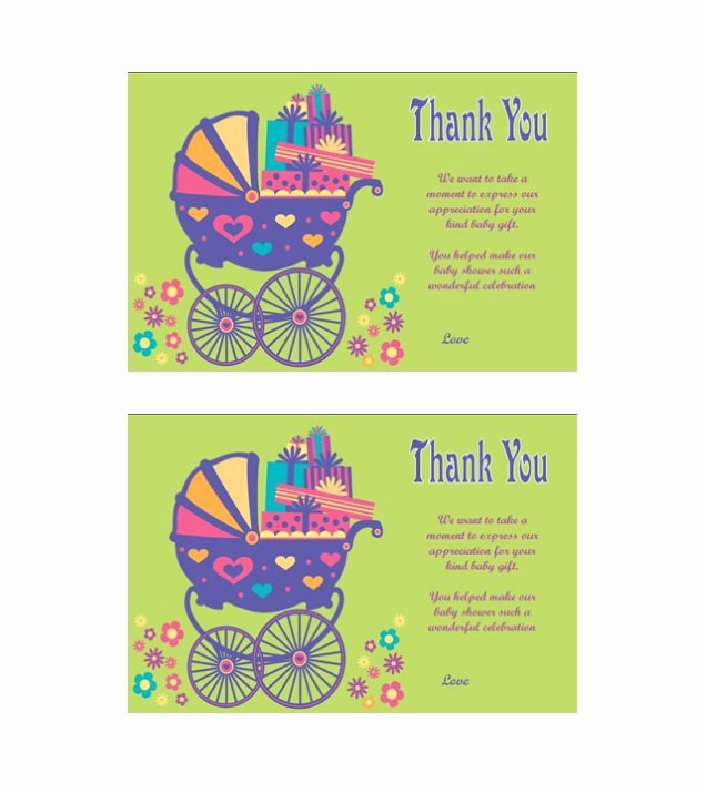Wedding Thank You Card Template Awesome 30 Free Printable Thank You Card Templates Wedding