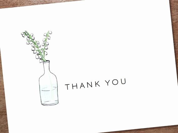 Wedding Thank You Card Template Beautiful Wedding Thank You Card Template Lemayr Printable by Empapers