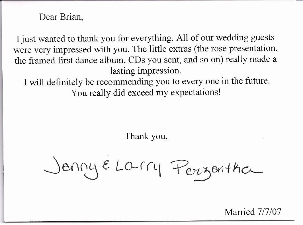 Wedding Thank You Note Template Luxury Wedding Thank You Note Template 2018